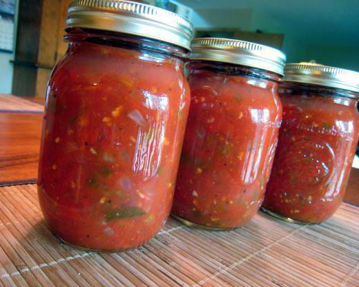 острая закуска из помидор на зиму рецепты с фото
