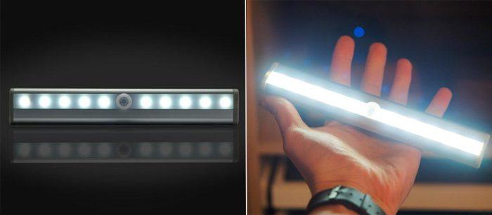 новый экономичный LED светильник для мебели, туалета и гаража