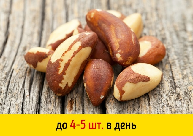 Скорлупа бразильского ореха
