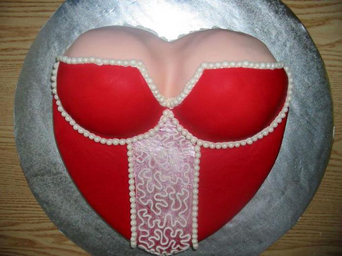 торт в виде груди пошаговый рецепт