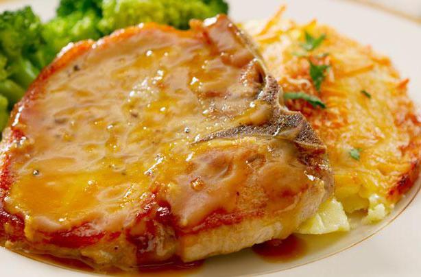Рецепт свинина в горчичном маринаде