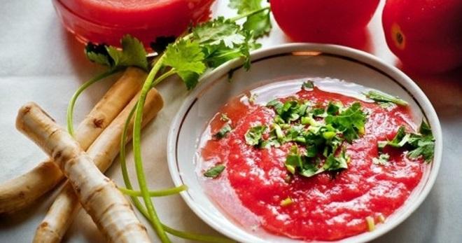 Аджика с хреном - вкусные рецепты пикантной заготовки на зиму
