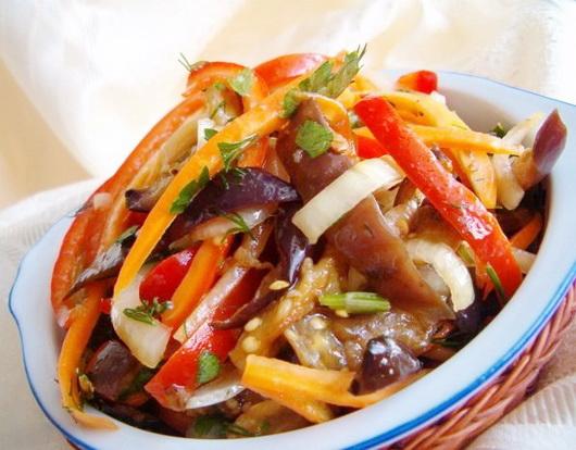 Корейские салаты - общие принципы и способы приготовления