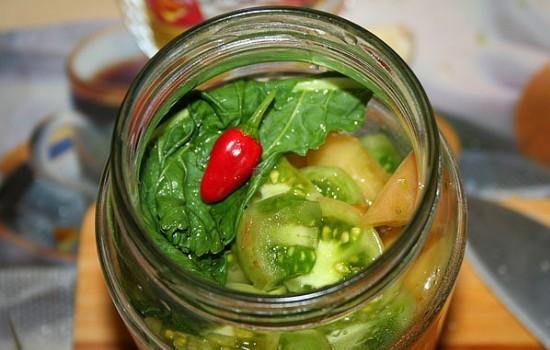 Лучшие рецепты вкусных закусок из зеленых помидоров на зиму