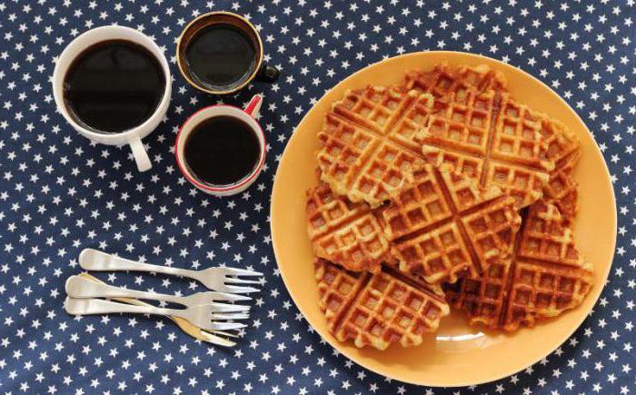 Как сделать вафли без вафельнице рецепт