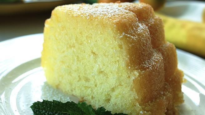 Кекс с цедрой лимона рецепт с фото