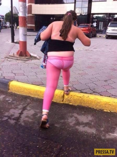 фото попы в трусиках джинсах лосинах