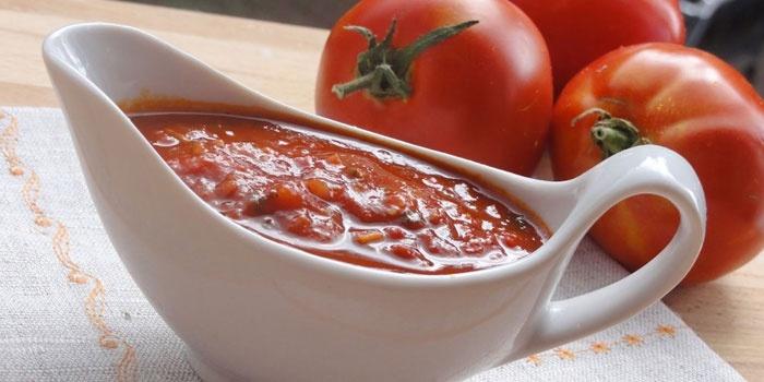 Рецепт 5 – Томатный соус из свежих помидоров
