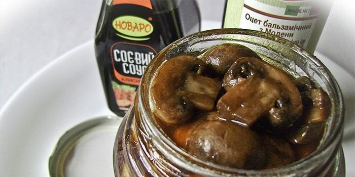 Быстрый маринад для грибов рецепт на