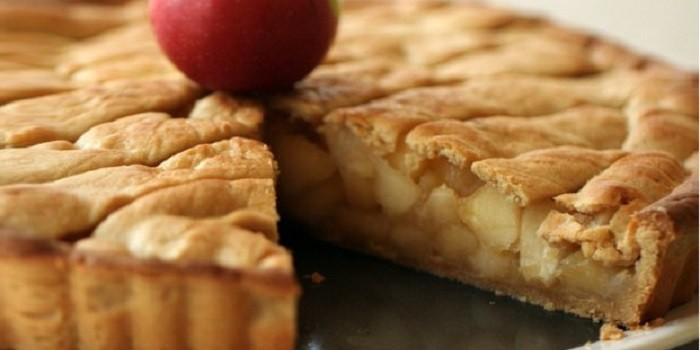 Классический яблочный пирог рецепт с фото пошагово в духовке