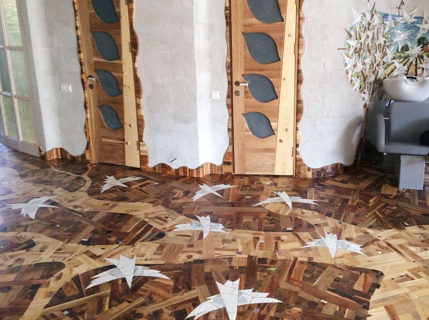 Как сделать полы из деревянных досок